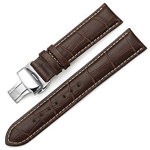 cinturino orologio pelle grigio