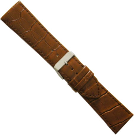 cinturino pelle blu 20mm