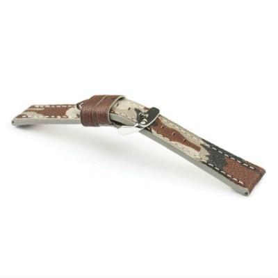 cinturino pelle perforato