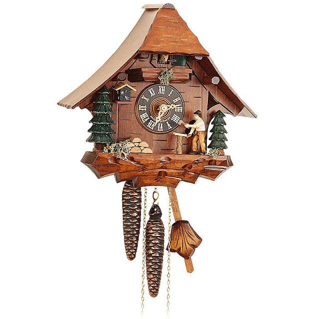 orologio a cucu meccanico foresta nera