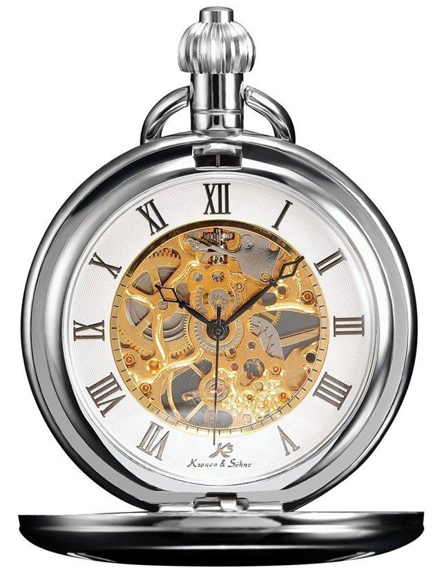 orologio da tasca a carica manuale