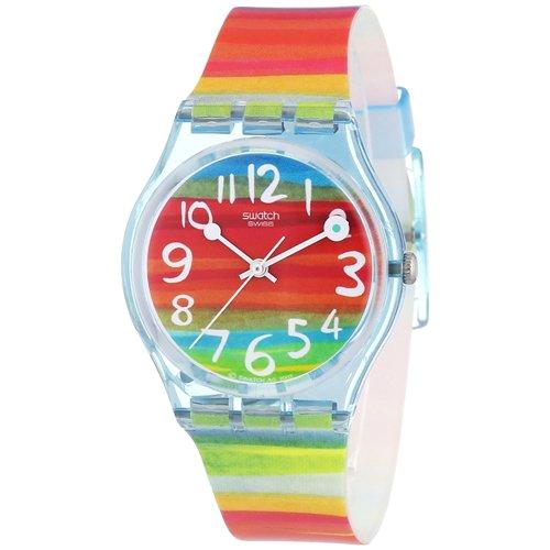 orologio swatch arancione
