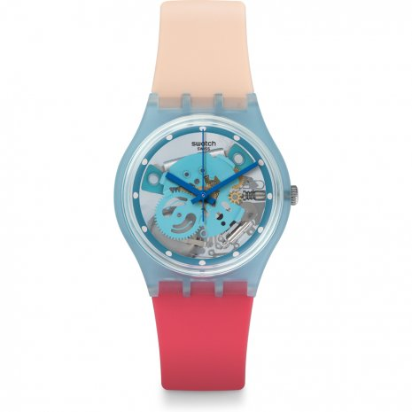 orologio swatch pinkindescent